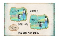 You Rock Mom and Kid Set of 2 Product Image 1