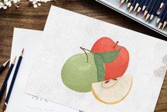 Apple hand drawn clip art Product Image 4