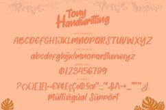 Tony Handwritting Font Product Image 2