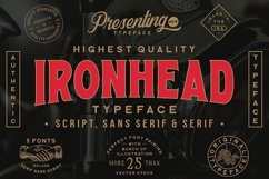 Ironhead Font Collection Product Image 1