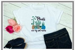 Plants Are My Soil Mates Plant Lover SVG Product Image 2