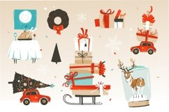 Merry Christmas illustrations Product Image 4