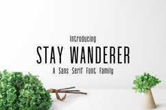 Stay Wanderer 3 Font Family Pack Product Image 1