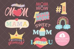 Mother's Day Clip Art Digital Sticker Product Image 4