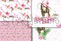 Summer Fashion Paper Pack Digital Seamless Patterns Planner Product Image 5
