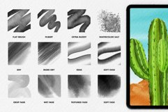 Watercolor brushes for procreate 5 Product Image 3