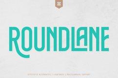 ROUNDLANE - MULTI PURPOSE DISPLAY FONT Product Image 1