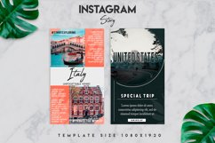 7 travel instagram story template Product Image 5