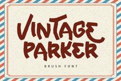 Vintage Parker - Brush Font Product Image 1