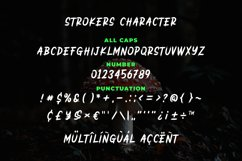 Strokers - Wild Brush Typeface Product Image 5