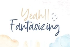 Daydream cute modern handwritten font Product Image 2
