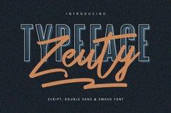 Zeuty Typeface Collection Product Image 1