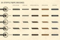 Sailor Mate's Rope Brushes II - Stipple Product Image 2