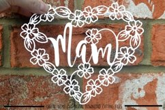 Mam paper cut SVG / DXF / EPS files Product Image 2