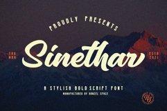 Sinethar - Bold Script Product Image 1