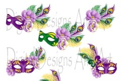 Mardi gras clipart Product Image 4
