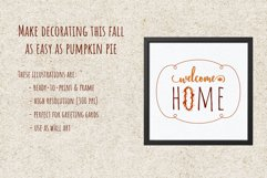 Autumn Printables & Illustrations Product Image 5