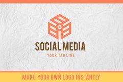 3D Isometric Logo Font Product Image 3
