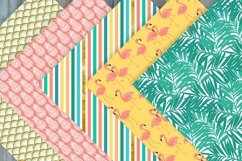Summer Digital Papers - Summer Patterns Product Image 2