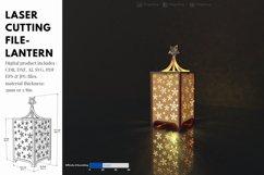 LANTERN - laser cut file Product Image 2