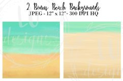 Summer Girls Clipart, Beach Clipart, Girl Illustrations Product Image 6