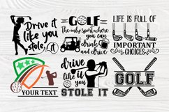 Golf SVG Bundle, Golfing Svg, Golfer Svg Quotes Cut Files Product Image 3