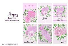 Happy Mother's Day Card, Mother Day gift card, Love you mom Product Image 2
