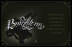 Brightone | Tattoo Script font Product Image 2
