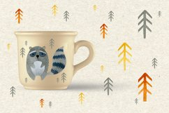 Watercolor forest friends graphic collection. Product Image 6