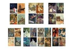 Edmund Dulac Vintage Fairy Tale Images 2 Journal Art PDF Product Image 6
