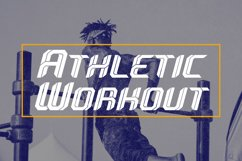 Sportive - Modern Display Font Product Image 6