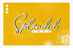 Sunflower   Freehand Signature Font Product Image 5
