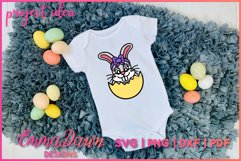 BETTY THE EASTER BUNNY SVG, 2 MANDALA / ZENTANGLE DESIGNS Product Image 6