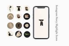 Girl Instagram Templates, Blank Insta Backgrounds Product Image 1