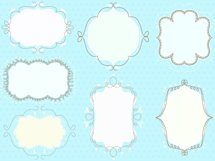 doodled frames pack  Product Image 2