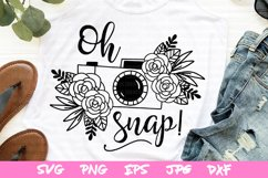svg files, camera svg, spring svg file, flower svg, spring Product Image 1