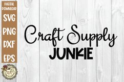 Craft Humor SVG Bundle-Funny Crafter Quotes-Crafting Time Product Image 2