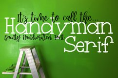 Handyman Serif Handdrawn Font Product Image 1
