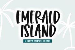 Web Font Emerald Island - A Fun Handwritten Font Product Image 1