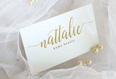 Nattalia Script Product Image 2