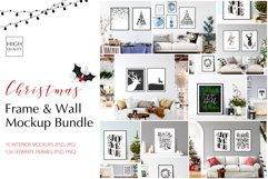 Christmas Frame & Wall Mockup Bundle Product Image 1