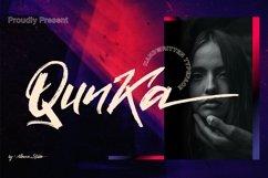 Web Font - Qunka - Handwritten Typeface Font Product Image 1