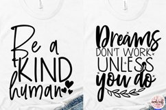 Inspirational SVG Bundle Quote - EPS DXF PNG Product Image 6