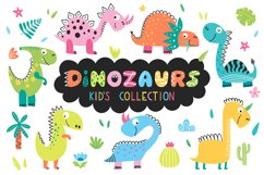 Dinosaurs - kids collection. Product Image 1