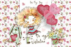 Funny Valentine Cards, Digital Clipart Valentines, Birthday Product Image 1