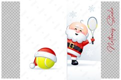 Merry Christmas and Happy New Year. Tennis. Product Image 3