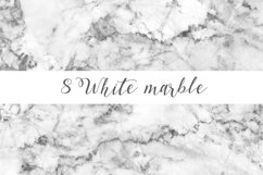 White marble digital paper pattern Product Image 3