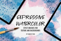EXPRESSIVE WATERCOLOR BRUSHES FOR PROCREATE Product Image 1