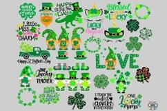St Patrick's Day svg, Bundle svg, Clover svg, Cricut Files Product Image 1