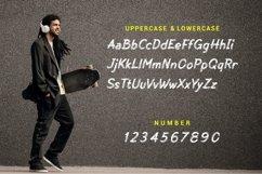 Skate Matter - Brush Texture Typeface Product Image 5